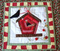 #birdhouse #quilt