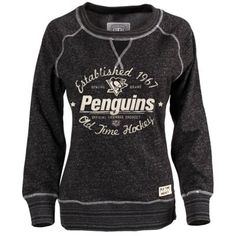 "Women's Philadelphia Flyers Old Time Hockey Black Seneca Snow Fleece Crew Sweatshirt. ""My Wish List Sweeps"" Nhl Boston Bruins, Chicago Blackhawks, Chicago Hockey, Blackhawks Game, Hockey Sweatshirts, Hoodies, Sweatshirts Vintage, Hockey Shirts, Nhl Shop"