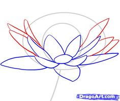 How to Draw - Tutorial: Drawing a Lotus or Water Lily for Comic ...