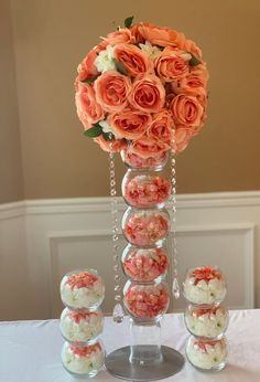 I do Collection by Cynthia Ann Boutique Creates special unique centerpieces, for bridal showers, weddings, or any occasion that seeks a reflection of your per Blush Centerpiece, Crystal Centerpieces, Unique Centerpieces, Bridal Shower Centerpieces, Baby Shower Decorations, Wedding Decorations, Dollar Tree Centerpieces, Flower Ball Centerpiece, Centerpiece Ideas