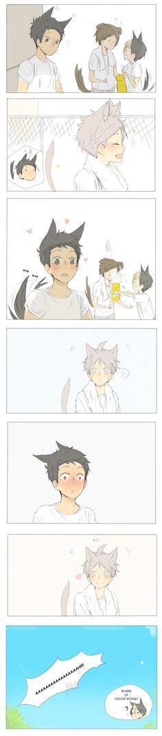 tumblr: andyzambie haikyuu daisuga comic cute