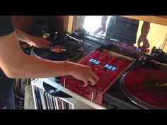 DJ SCRATCH 裏拍練習