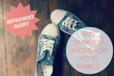 Win shoes for you and your family! http://www.athriftymrs.com/2014/06/win-shoes-family-shoe-zone-giveaway.html