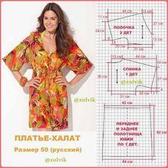 #ШитьеДляПолных_zolvik\u000a#платья\u000aEl vestido con tselnokroenymi por las mangas de la longitud\u000aMás abajo del codo.\u000aLos materiales:\u000a El batik, sharmez, el linón, se ponía fuerte-zhorzhet, la costura, el gas, zhakkard, \u000aLos tipos suaves fáciles del lino, los tipos distintos de la seda.\u000aAl trabajo con los materiales con el dibujo exigente el ajuste, el gasto el mate -\u000aDel rial se aumenta\u000a\ #SewingPatterns #sewing \u000a#выкройки #выкройка #шитье #
