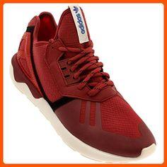 Tubular Runner Mens in Stnore/Red by Adidas, 10.5 - Mens world (*Amazon Partner-Link)