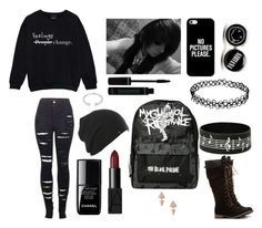 """""""Your image and my image of beauty are two very different things"""" by demigod-wizard-tribute-elf ❤ liked on Polyvore featuring moda, 2LUV, Casetify, le top, NARS Cosmetics, Forever 21 y Eddie Borgo"""