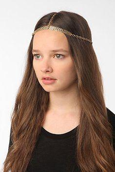 Hematite Renaissance Royalty Headdress chainmail chainmaille ...