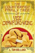 The Counterfeit Family Tree of Vee Crawford-Wong by L. Tam Holland:  A hysterically funny debut novel about discovering where you come from even if you have to lie to get there. When Vee Crawford-Wong's history teacher assigns an essay on his family history, Vee knows he's in trouble. His parents (Chinese-born dad and Texas-bred Mom) are mysteriously and stubbornly close-lipped about his ancestors. So, he makes it all up and turns in the assignment. And then everything falls apart.