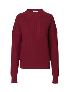 Cecilie Pullover - Vine Red