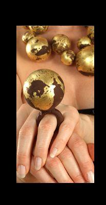 bijoux-chocolat from Italian contemporary artist Barbara Uderzo