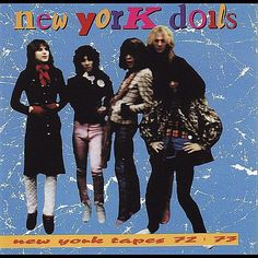 New York Tapes 72-73 New York Dolls 2010 #uxdesign #uidesign #design #graphicdesign #illustration #marketing, ui, ux Twitter Website, Lp Cover, Logo Design, Graphic Design, Illustration, New York, Album, Marketing, Dolls