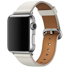 Wenjuan Single Tour Leather Band Bracelet Watchband For Apple Watch Series 3 Length: (Light Blue). **Compatible for Apple Watch Series 3 Band Length: **Easy installation: Easy to slide into yo Apple Watch 42mm, Apple Watch Series 3, Apple Watch Leather Strap, Leather Watch Bands, Bracelet Apple Watch, Sport Armband, Apple Band, Apple Watch Accessories, Phone Accessories