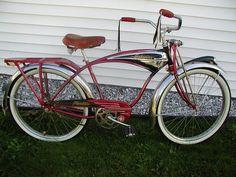 1950s Schwinn Red Phantom Boys Restored