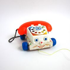 FISHER PRICE Chatter Telephone 1961. #vintage #toy