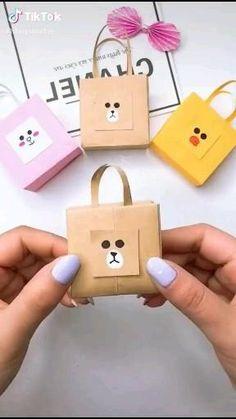Diy Crafts Hacks, Diy Crafts For Gifts, Diy Home Crafts, Creative Crafts, Crafts For Kids, Cool Paper Crafts, Paper Crafts Origami, Diy Paper, Instruções Origami