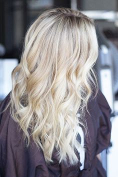 Blonde hair by Dkwstyling