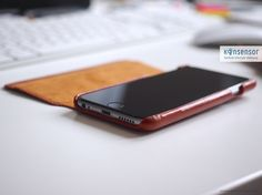 """Die Kavaj ""Dallas"" – Eine edle Lederhülle für das iPhone 6/6S"" Konsensor.de"