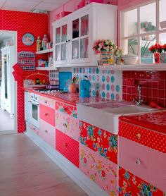 keukenkastjes kitsch kitchen