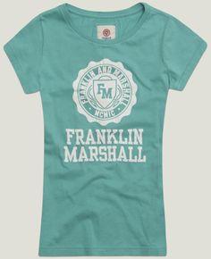 Electric green jersey t-shirt #franklinandmarshall