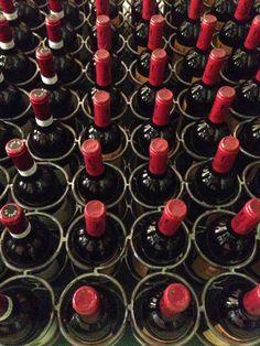Red head bottles