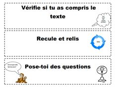 cartes_stratégie_compréhension.pdf Google Drive, Daily 5, Questions, Comprehension, School Stuff, School Ideas, French, Reading, Cards