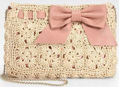 valentino crochet purse Designer Crochet: Valentino Garavani