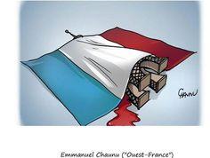 "Emmanuel Chaunu (""Ouest France"") http://www.lefigaro.fr/culture/2015/11/25/03004-20151125ARTFIG00155-attentats-l-hommage-des-dessinateurs-du-monde-entier.php"