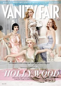 So excited for Vanity Fair's annual Hollywood issue! GREAT styling!!!