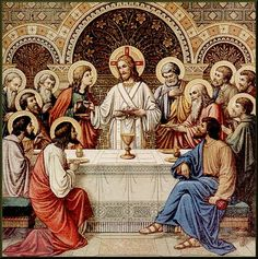 The Last Supper - the first Mass.