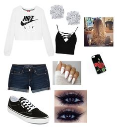 """""""Untitled #106"""" by raquel-soriano on Polyvore featuring NIKE, Aéropostale, Vans, Effy Jewelry and Boohoo"""