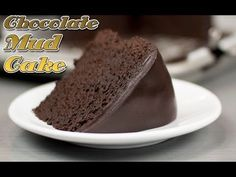 Easy Chocolate Mud Cake Recipe ! - Super Fudge Cake recipe - YouTube