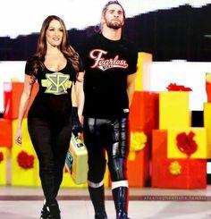 Nikki Bella & Seth Rollins