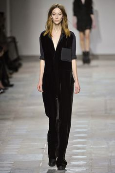 drowning in extra large velvet jumpsuits--is sort of my thing. topshop unique fall 2012. #topshop #2012 #fashion