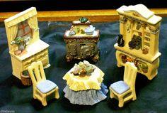 "Avon Miniature Furniture Collectibles Victorian Memories ""The Kitchen Series"" @ ditwtexas.webstoreplace.com"