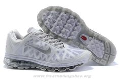 Authentic 429889-101 Nike Air Max 2011 Mens White Metallic Silve