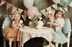 Photography - baby - toddler and a tea party Koko Blush & Co Styling with Peekaboo Photography www. Toddler Tea Party, Girls Tea Party, Tea Party Birthday, Childrens Party, Tea Parties, Birthday Ideas, Birthday Girl Pictures, First Birthday Photos, Little Girl Birthday