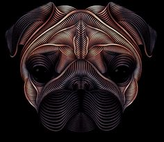 The Pug on Behance