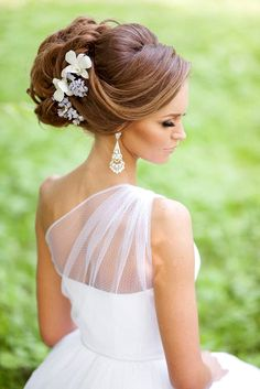 Stunning Summer Wedding Hairstyles ❤ See more…