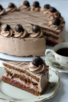 no- Smil-kake – Krem.no Smile Cake – Krem. Bite Size Desserts, Cookie Desserts, How To Make Pastry, Vegan Pastries, Mini Cheesecake Recipes, Cake Piping, Types Of Cakes, Chocolate Hazelnut, Chocolate Cakes