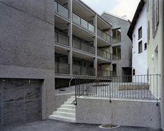 Miroslav Šik - Bürgerhus apartment building, Haldenstein 2007. Scans via, photos © Anna Lenz.