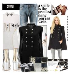 """""""A smile is the prettiest thing you can wear with Yoins.com"""" by hamaly ❤ liked on Polyvore featuring Camilla Elphick, Florence Bridge, MustHave, fall2015 and yoins"""
