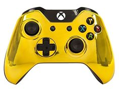 Custom GOLD Xbox One UN-Modded Controller Mod Chrome XB1 Customized -- Awesome products selected by Anna Churchill