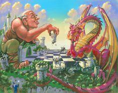 Ajedrez entre el gigante y el dragón