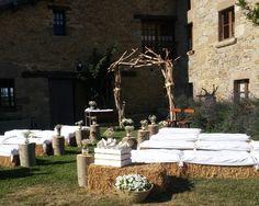 Decoración para bodas.