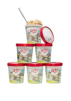 Oprah fell truly, madly, deeply in love with this ice cream from Brooklyn. Send someone 6 pints in the mail. #giftideas