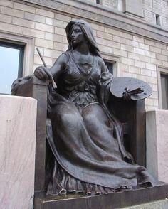 Art Sculpture at Boston Public Library by Elizabeth Thomsen, via Flickr