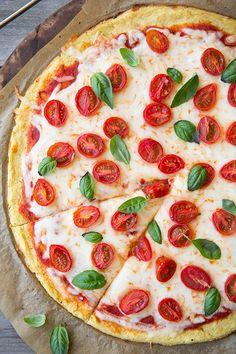 Cauliflower Pizza Crust {GF} - Cooking Classy