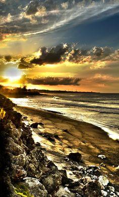Sunset in Arecibo, Puerto Rico