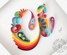 49 Ideas For Origami Paper Heart Etsy Quilled Paper Art, Paper Quilling Designs, Quilling Paper Craft, Origami Paper, Paper Crafts, Quilling Ideas, Quilling Letters, Paper Engineering, Paper Anniversary