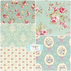 Rococo Sweet 2014 Fat Quarter Set, $16.25, Skye Reve Fabrics